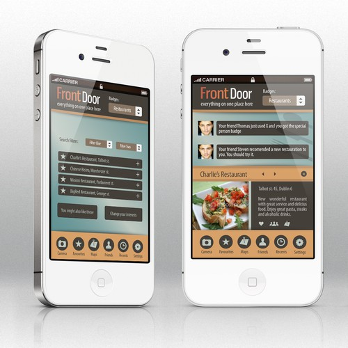 Mobile Phone App Design