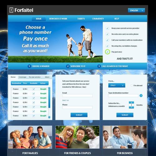 Forfaitel Web Design