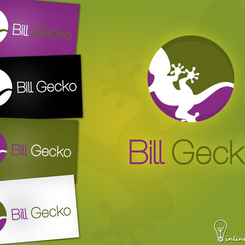 Create thenew logo for Bill Gecko - a bill sharing/splitting tool