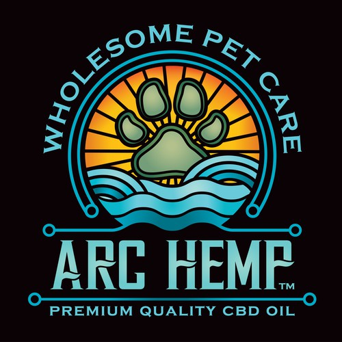 Logo for ARC HEMP pet care