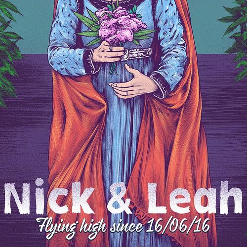 Nick&Leah Poster