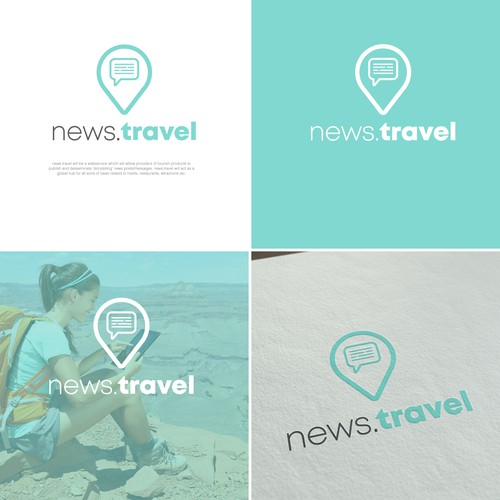 Logo for travel news
