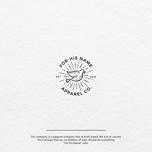Religious Apparel Brand Logo