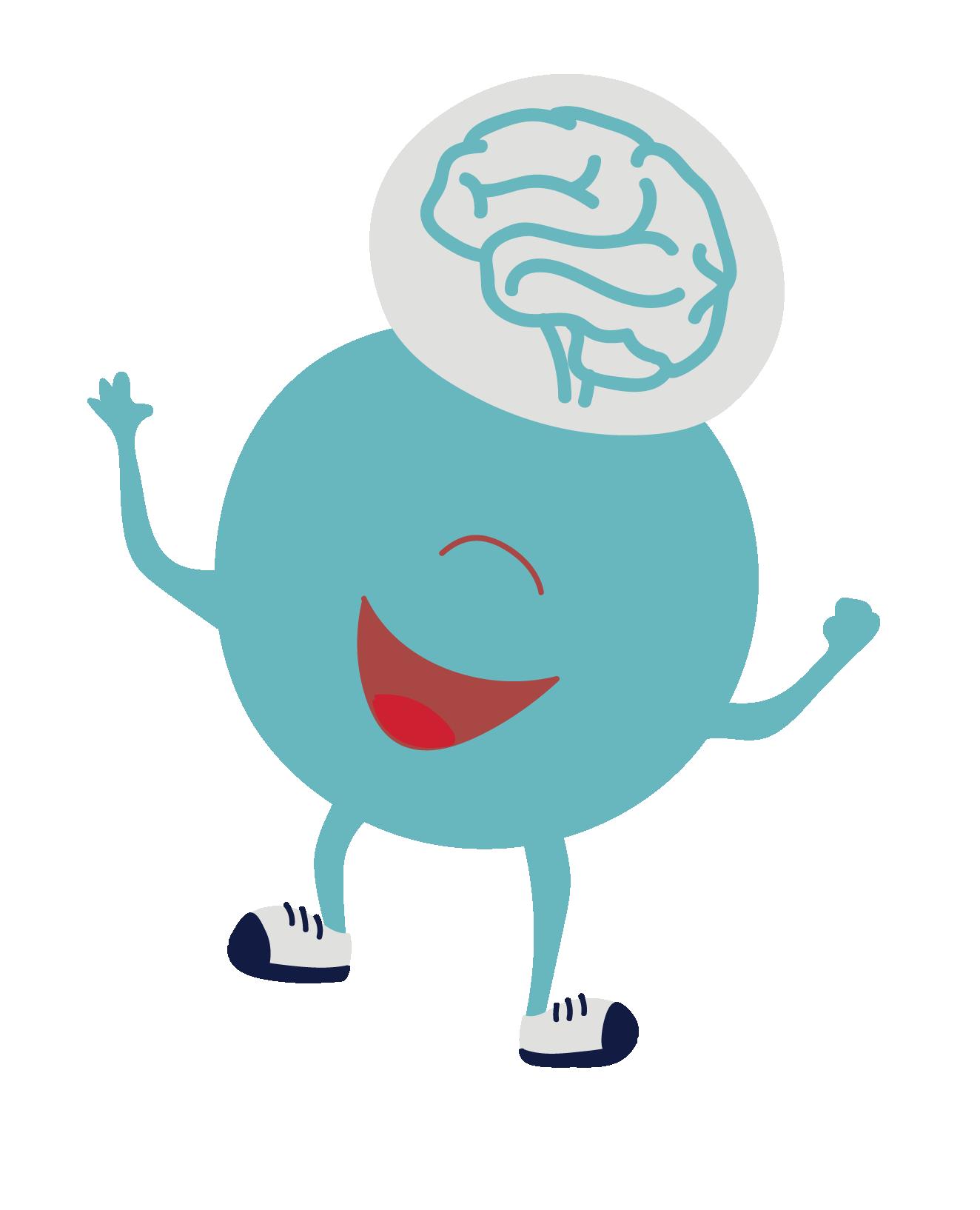 Brain Key  - brain character