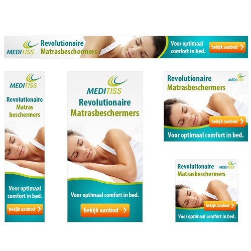 Banner Ads For Bed and Mattress Products