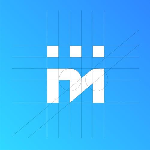 Minimal logo concept for TextMagic