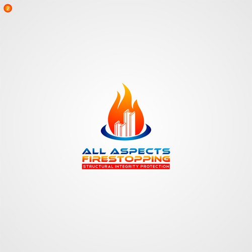 Design a logo for a Structural steel fire protection company