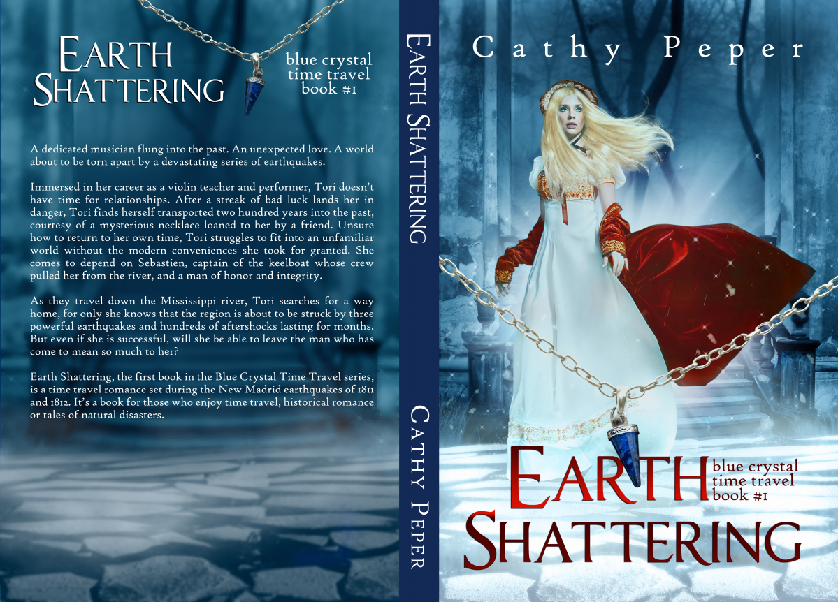 Earth Shattering paperback design