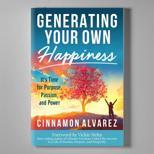 Book Cover Design for Cinnamon Alverez