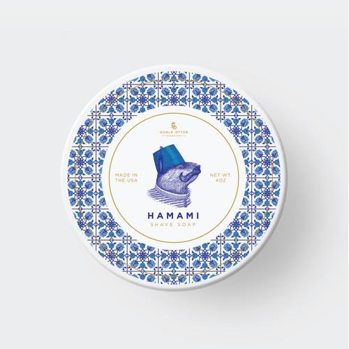 Hamamı label design