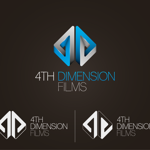 Create a unique logo design for  '4th dimension films' (indie film company)