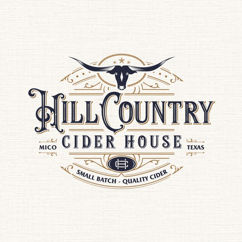 Logo for high quality cider house