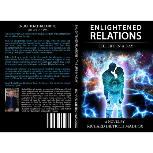 Book Cover Design for Enlightenment Book