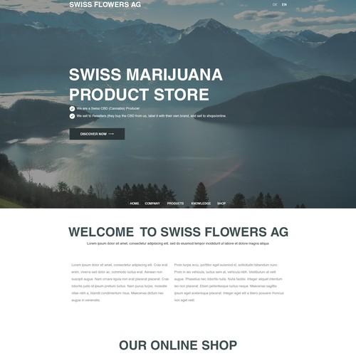 Swiss Flowers CBD (Cannabis Producer)