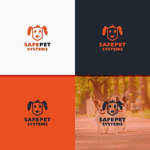 Logo for pet service