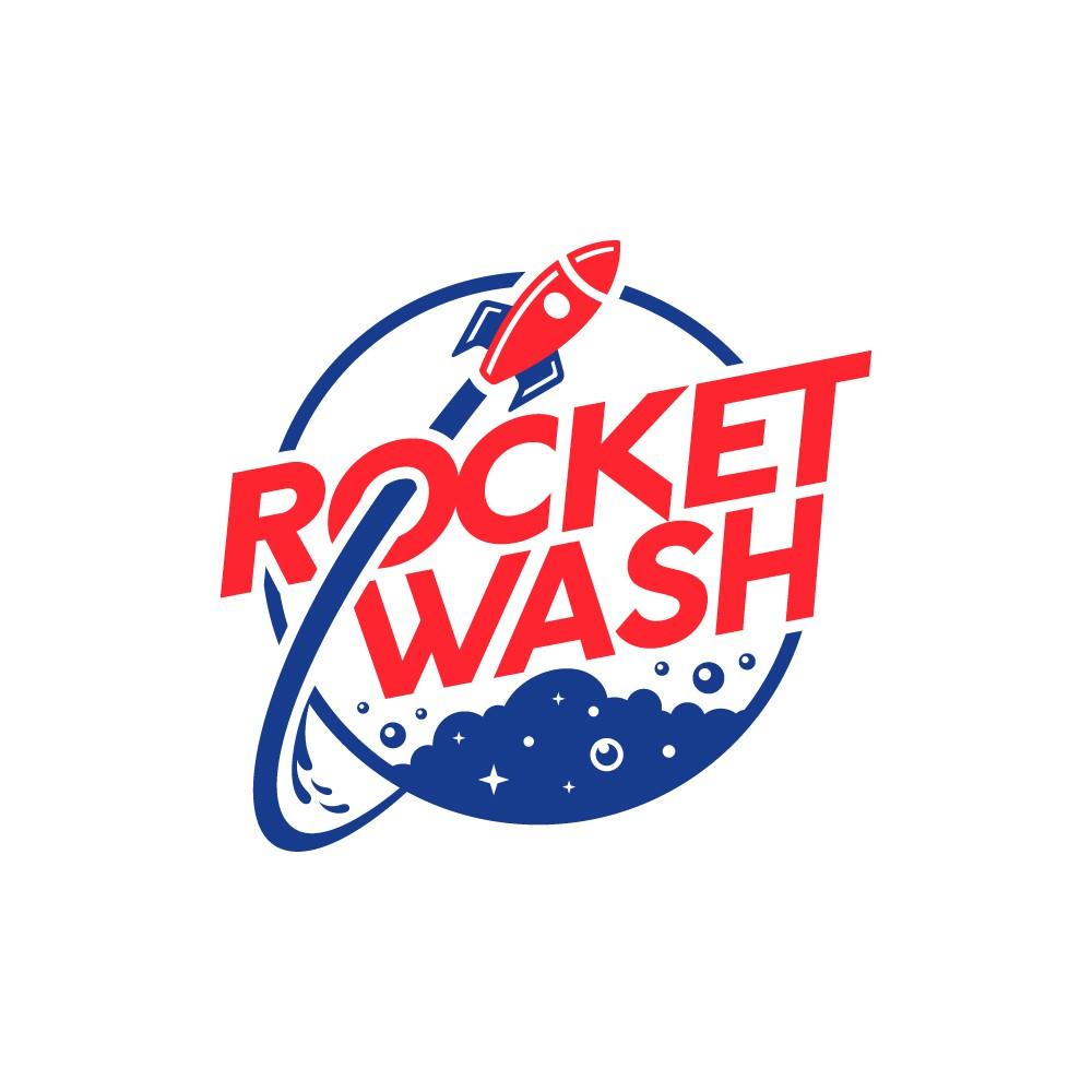 Rocket Wash needs an amazing new logo!