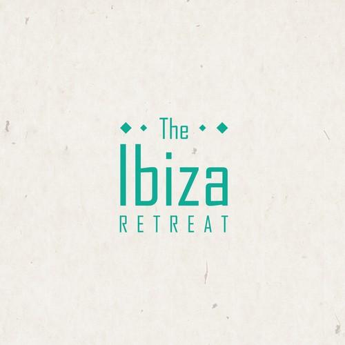 Bold logo for a retreat company