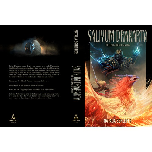 fantasy illustration and book cover