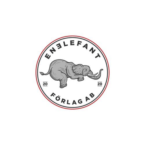 Elephant logo vintage
