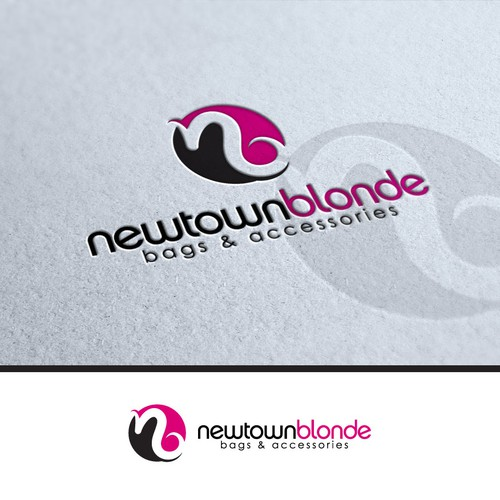 Logo for Newtown Blonde (bag and Accessory label)