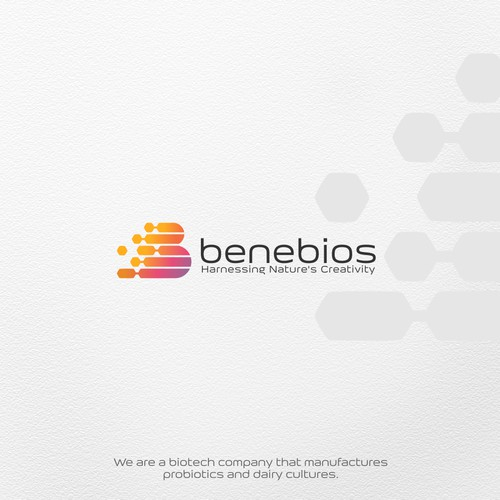 Logo and brand identity for Benebios