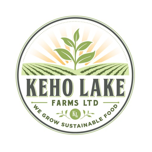 KEHO LAKE FARMS LTD LOGO DESIGNS