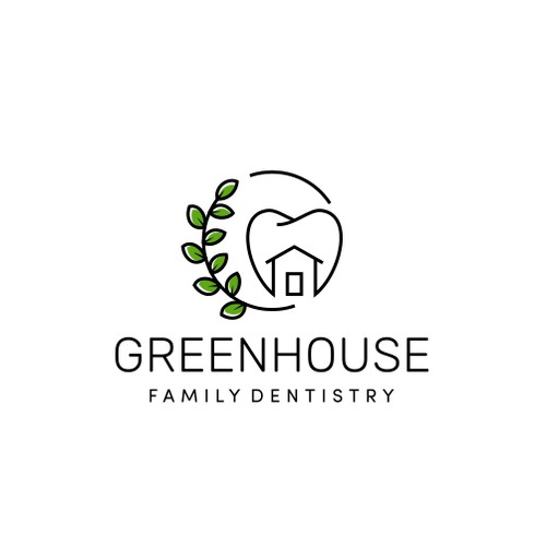 Unusual and fun logo for a dentist
