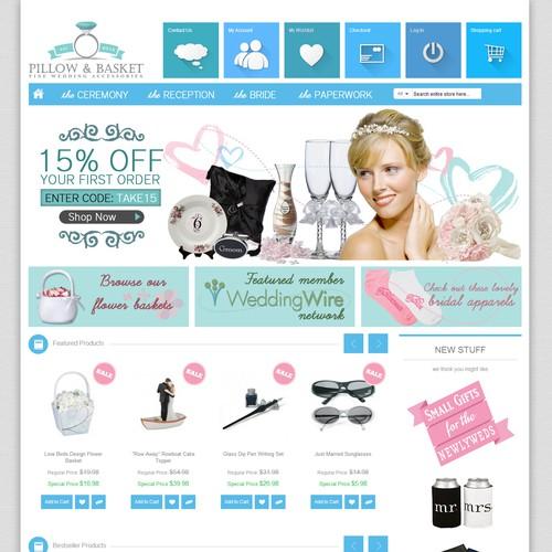 Pillow & Basket Web Design