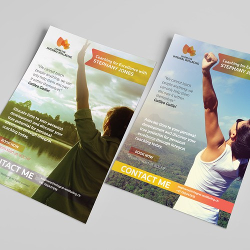 Poster Design for Integeral Wellbeing
