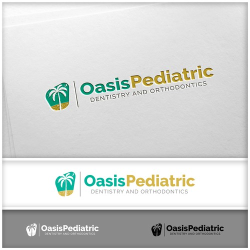 Oasis Pediatric Logo Concept