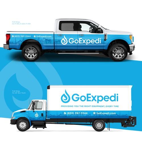 Wrap for GoExpedi car fleet