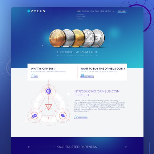 ORMEUS COIN redesign