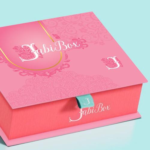 Jabi Box for Muslim Female Head Scarf (Hijab)