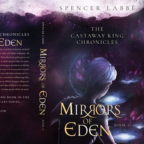 'Mirrors of Eden' Book 2 - 'The Castaway King Chronicles' by Spencer Labbé
