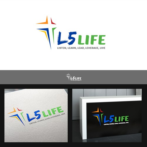 Creative logo for L5 Life