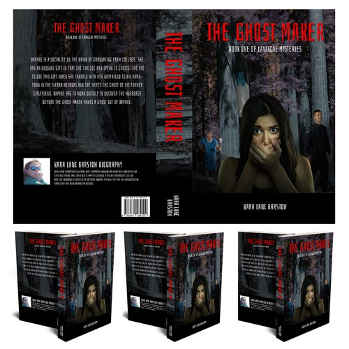 The Ghost Maker Book Cover Design