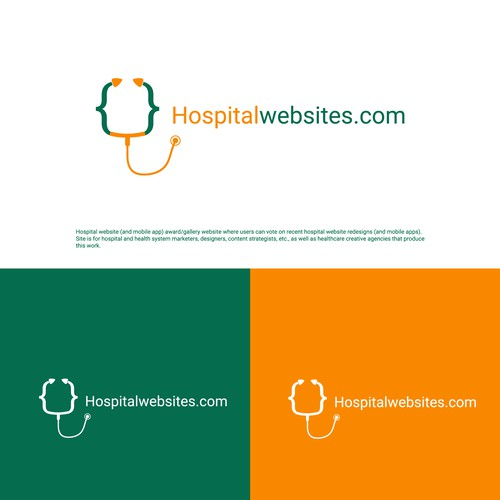 Logo for hospital websites