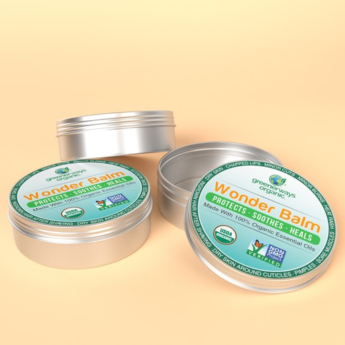 Simple Label concept for Wonder Balm