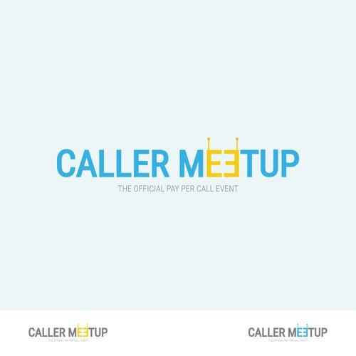 Logo concept for 'Caller Meetup' event