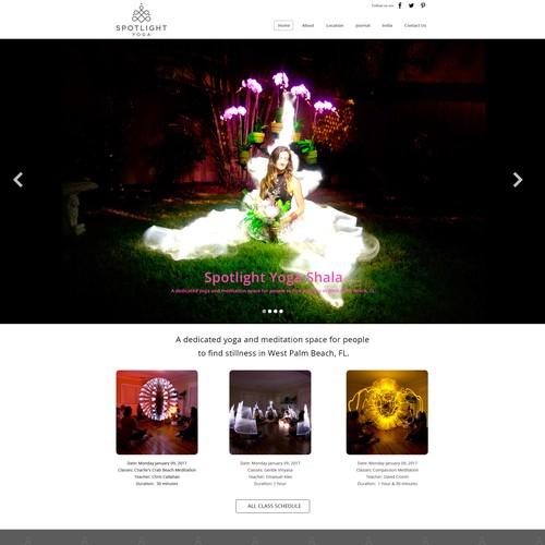 Responsive webpage design