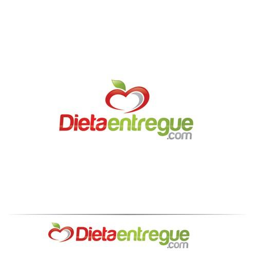 """Logo to """"Dietaentregue.com"""""""