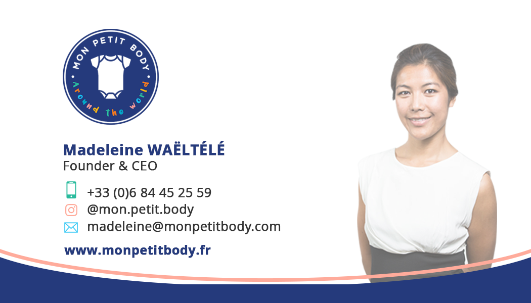 Business card for MON PETIT BODY