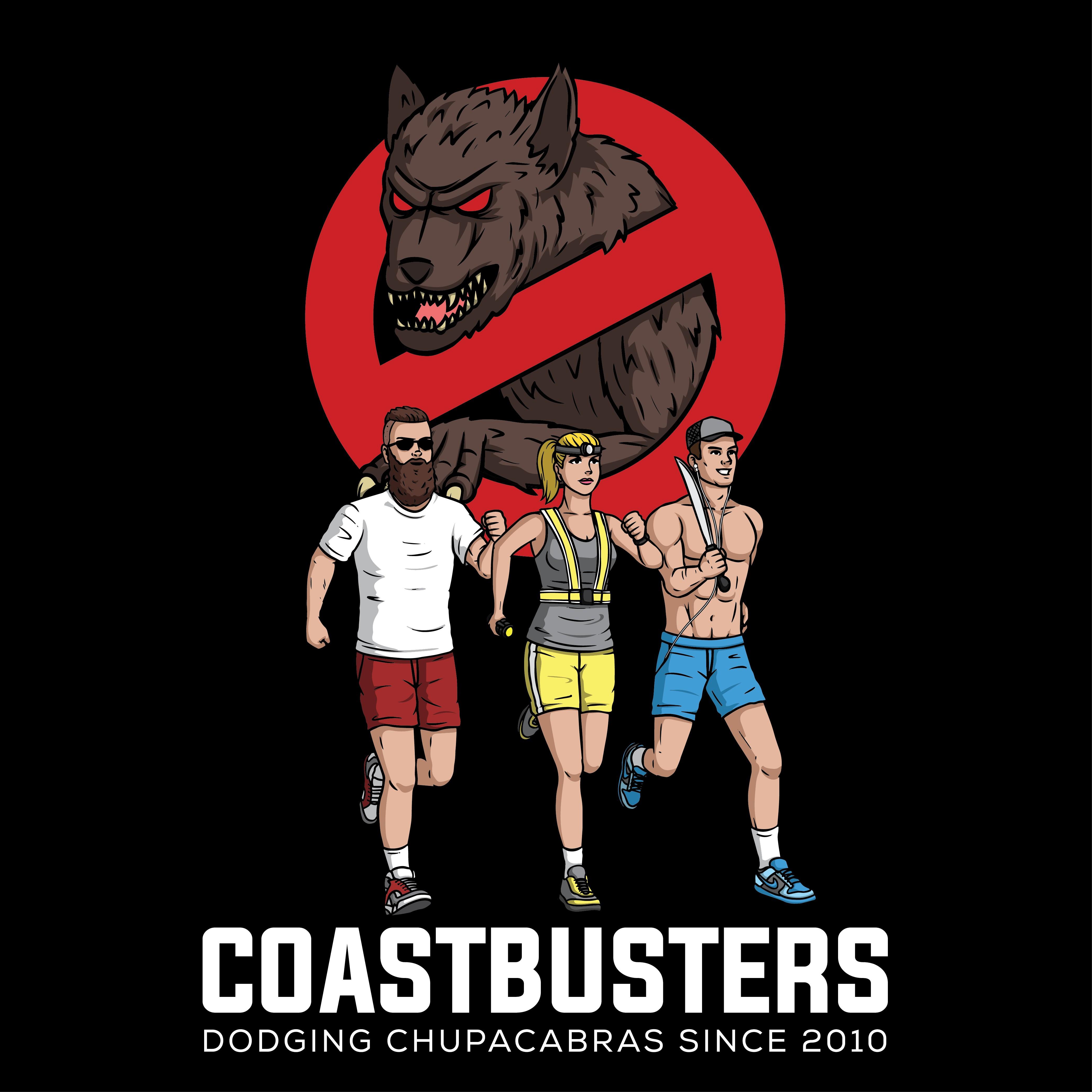 Coast Busters Team Logo