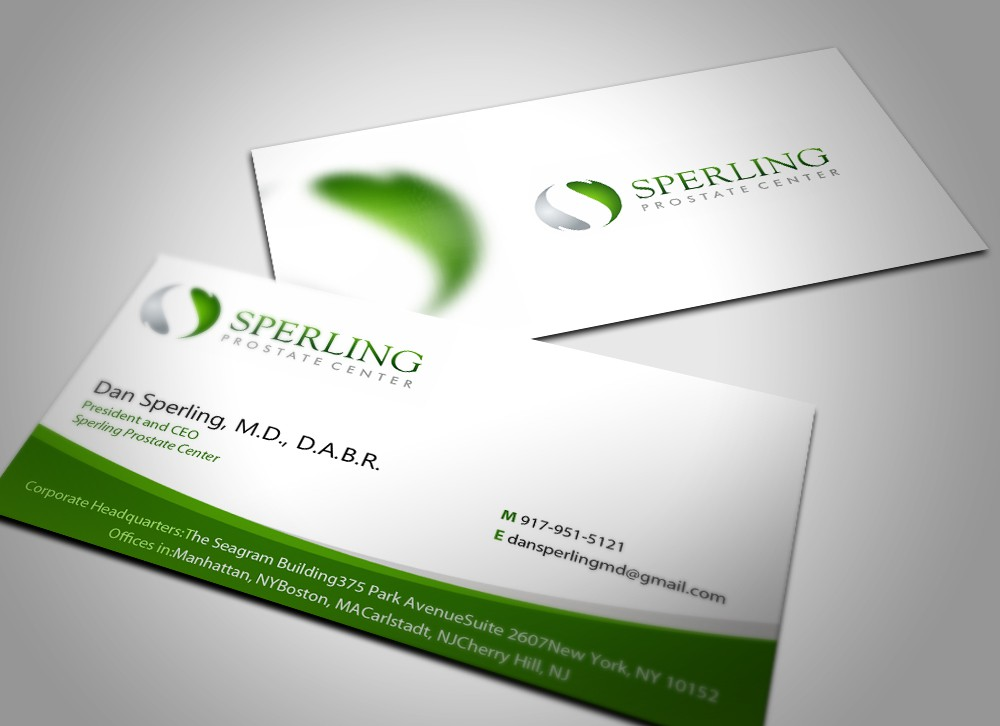 New stationery wanted for Sperling Prostate Center