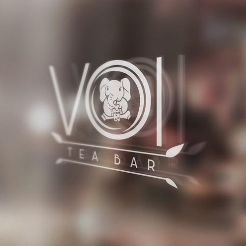 Simple Creative Logo for Tea Bar
