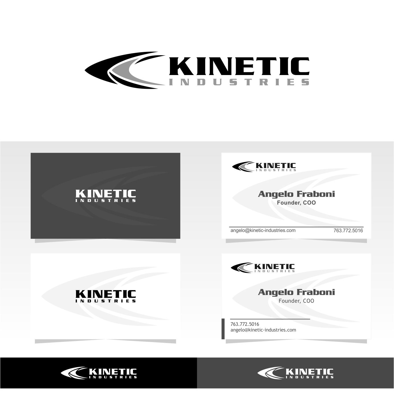 Design the logo and business card for an Ammunition Company