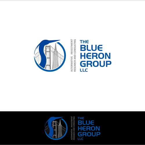 The Blue Heron Group LLC needs a new logo
