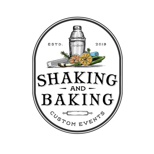 Logo for catering business