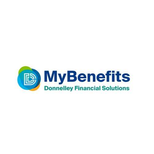 Logo design for Benefit Plans of Donnelley Financial Solutions