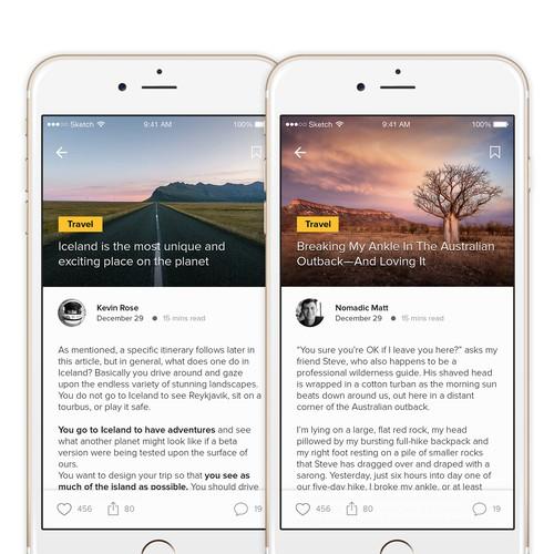 Blog App Concept